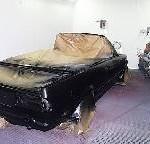 Cabrio lackieren